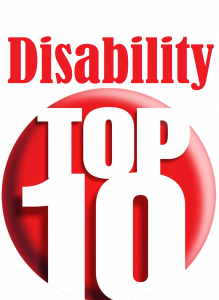 Disability Top 10 Graphic